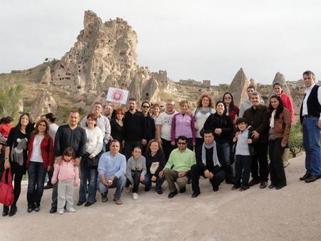 KAPADOKYA GEZİSİ 16-17 EKİM 2010 DA GERÇEKLEŞTİRİLMİŞTİR
