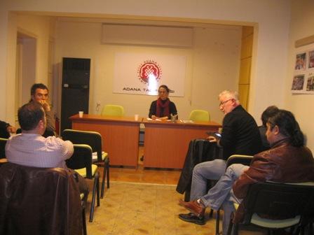 21 Aralık Grev öncesi mücadele ve 2012 Tabip odası yeni dönem yönetimi çalışmaları ile ilgili toplantı yapılmıştır.