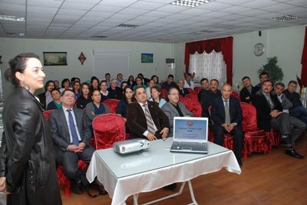 Ceyhan Devlet Hastanesi'nde Sağlıkta Darbe diye nitelendirdiğimiz KHK ile ilgili Konferans yapılmıştır.