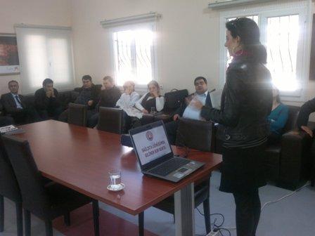 Dr.Ekrem Tok Ruh Sağlığı ve Hastalıkları Hastanesi'nde Sağlıkta Darbe diye nitelendirdiğimiz KHK ile ilgili Konferans 16 Aralık Cuma günü yapılmıştır