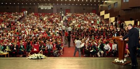 Adana-Osmaniye Tabip Odası Başkanı Dr. Ali İhsan Ökten'in ÇÜ. Tıp Fakültesi Mezuniyet Töreni Konuşma Metni