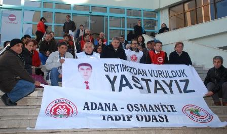 Dr.Ersin Arslan-Basın Açıklaması-Oturma Eylemi
