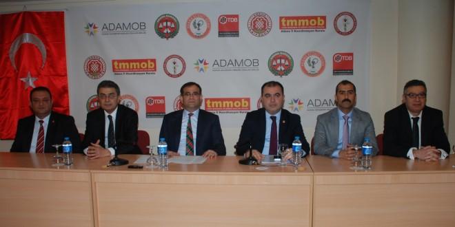 Adana Akademik Meslek Odaları Birliği Kuruldu