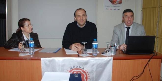 Güney İlleri Tabip Odaları Toplantısı Adana'da Yapıldı