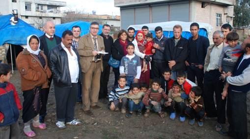 Adana Tabip Odası'nın Suriyeli Sığınmacılar'a Ziyareti