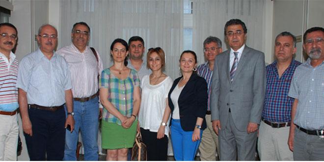 Adana Diş Hekimleri Odası Yönetim Kurulu Başkanı ve Üyeleri Odamıza Ziyarette Bulundular