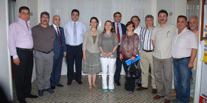 Adana Eczacı Odası Yönetim Kurulu Başkanı ve Üyeleri Odamıza Ziyarette Bulundular
