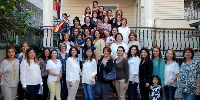 Kadın Hekimler Sonbahar Çay Partisinde Buluştu