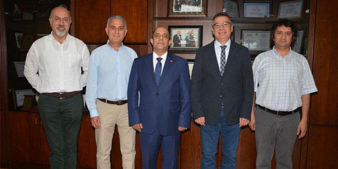 Dr. Ahmet Özer ve Dr. Çağlar Çatak Ziyareti