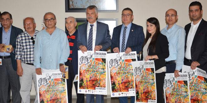 'Etem Çalışkan Sanat Günleri' 24-27 Mayıs Tarihleri Arasında Düzenlenecektir
