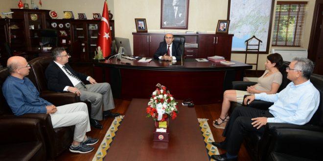 Adana Valisi Mahmut Demirtaş'a Nezaket Ziyareti