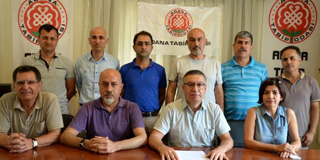 """Adana Tabip Odası'ndan """"Darbe"""" ve """"Darbe Girişimlerine"""" Tepki: Temel Hak ve Özgürlüklere Darbe Vurulmasına Karşıyız!"""