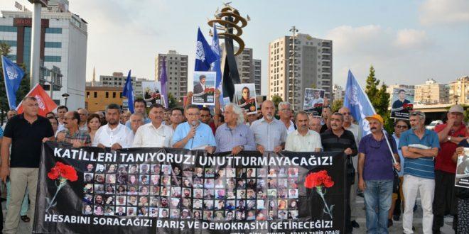 10 Ekim Katliamında Yitirdiğimiz Canlar Anıldı