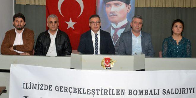 """""""Terör, Çirkin Yüzünü Bu Kez de Adana'da Gösterdi"""""""