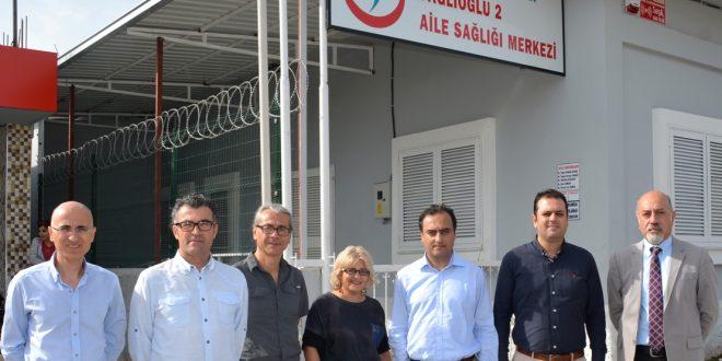 Adana Tabip Odası'ndan Dağlıoglu-2 ASM'ye Yaşadığı Hırsızlık Olayından Dolayı Geçmiş Olsun Ziyareti