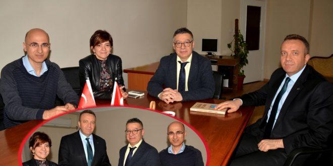 AKHBGS Op. Dr. İbrahim Ethem Özsoy'dan Tabip Odasına Ziyaret