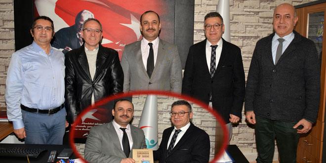 Adana Tabip Odası'ndan Adana Halk Sağlığı Müdürlüğü'ne Ziyaret