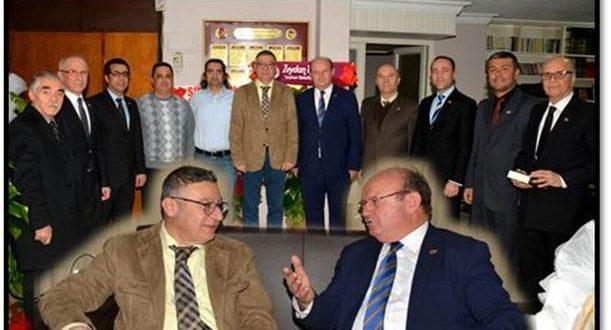 Adana Tabip Odası Yönetim Kurulu'nun Çukurova Gazateciler Cemiyeti'ne Ziyareti