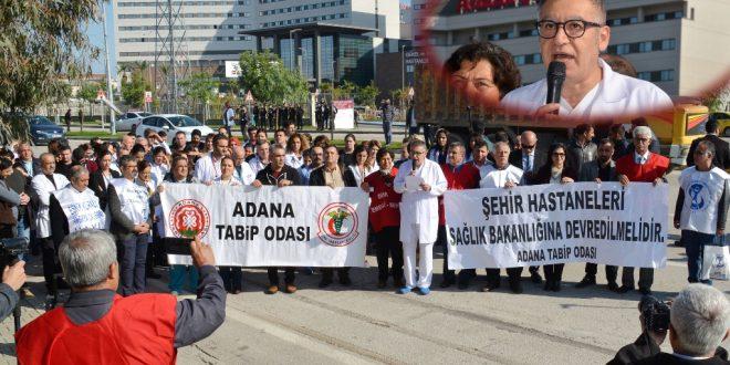 Basın Açıklaması-Adana Şehir Hastanesinde Dağıtılan Döner Sermaye Azlığı