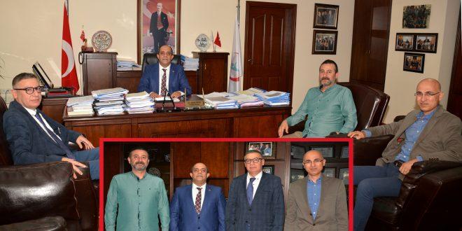 Tabip Odası Yönetimi İl Sağlık Müdürü Dr. Ahmet Özer'i  Ziyaret Etti