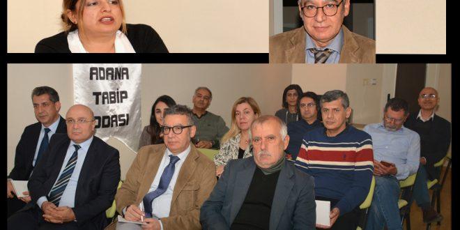SGK Başmüfettişi ile Hekimlere Hukuki Sorumlulukları Hakkında Bilgilendirme Toplantısı Yapıldı