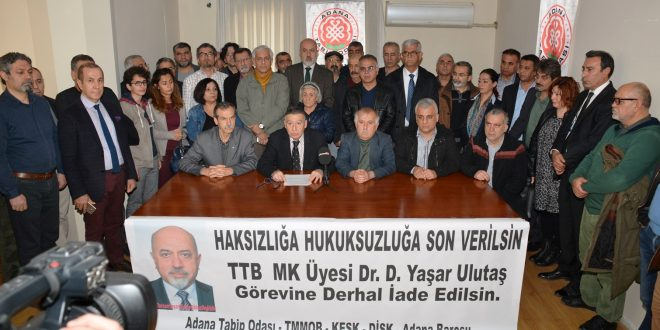 """BASIN AÇIKLAMASI – """"Dr. D. Yaşar Ulutaş, Görevine İade Edilmeli"""""""