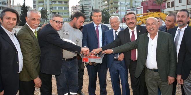 Adana Tabip Odasının Yeni Hizmet Binasının Temeli Törenle Atıldı.