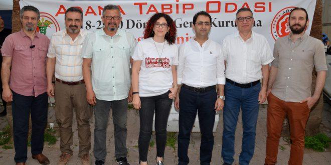 Adana Tabip Odası Yönetimi Görev Dağılımı Yaptı