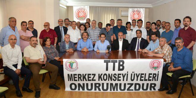 TTB Yöneticilerine Verilen Cezaya Ortak Tepki!