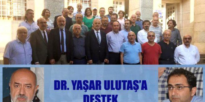 Dr. D.Yaşar Ulutaş  İşe İade Davası Duruşmasına Destek