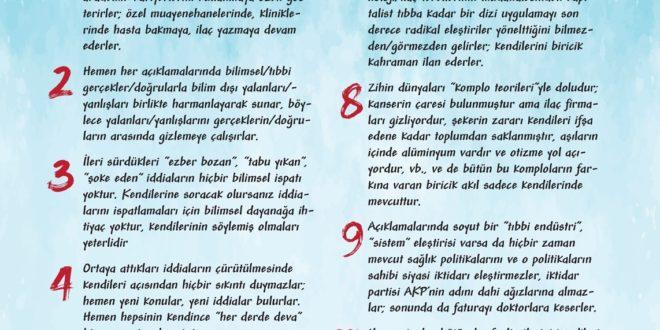 Tıbbın Şartlatanlarının 10 Ortak Özelliği