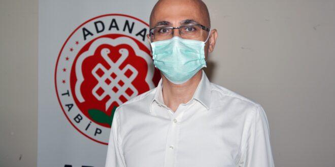"""Adana Tabip Odası Başkanı Uzm. Dr. Selahattin Menteş, """"Pandeminin yönetilememesi Sağlık Çalışanlarını hasta ediyor"""""""