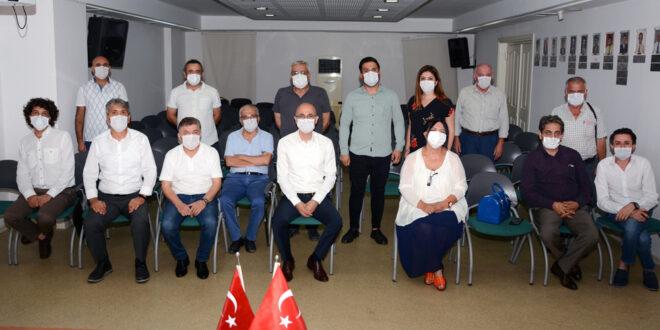 Oda Başkanlarına Pandemi anlatıldı