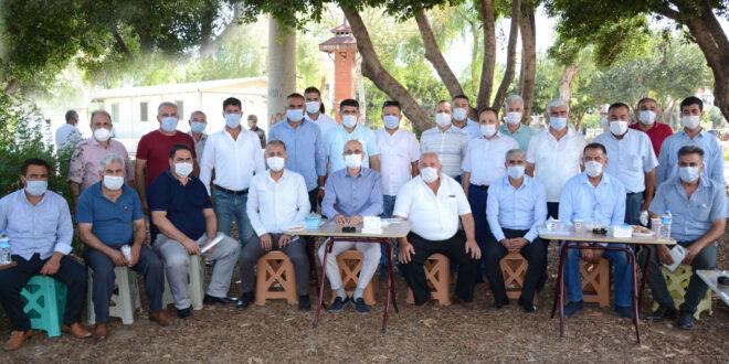 Muhtarlara Pandemi Anlatıldı