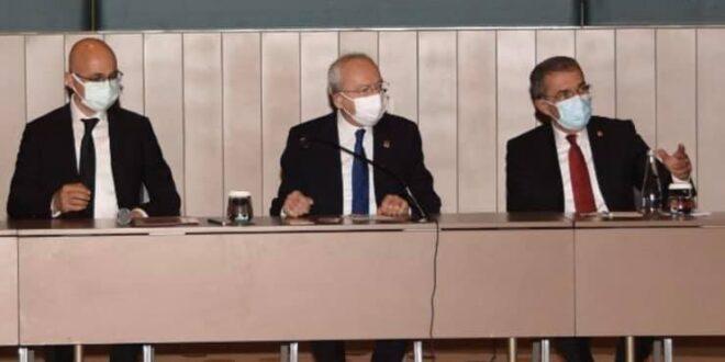 CHP Genel Başkanı Sayın Kemal Kılıçdaroğlu ile Pandemi süreci, hekim ve sağlık çalışanlarının sorunları, çözüm önerilerimiz ve Adana'daki salgının durumu üzerine verimli bir görüşme gerçekleştirdik. Adana Tabip Odası adına teşekkür ederiz.