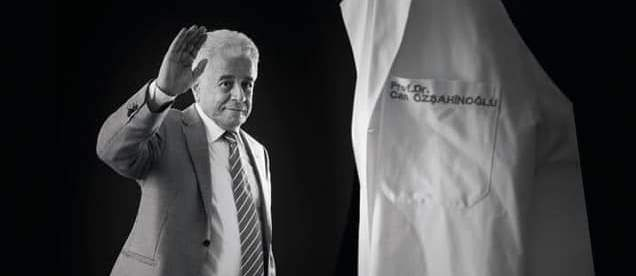 Prof.Dr.Can Özşahinoğlu'nu kaybettik.