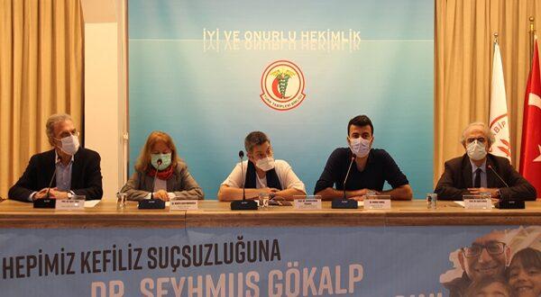Herkes için Adalet, TTB Yüksek Onur Kurulu Üyesi Dr. Şeyhmus Gökalp'e Özgürlük!