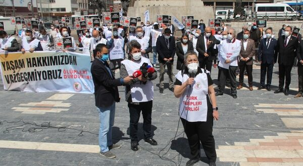Ankara'da ve Tüm İllerde Eşzamanlı Seslendik: Yaşam Hakkımızdan Vazgeçmiyoruz, Ölümleri Durdurun!